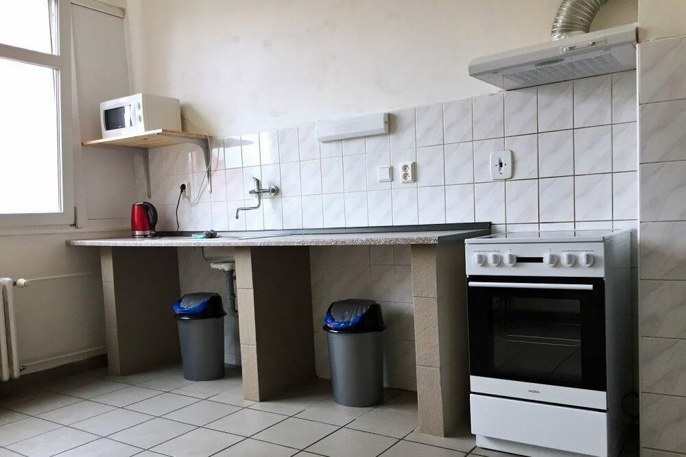 Kuchyň ubytovna Písek